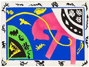 Выставка графических произведений А. Матисса «Взгляд»