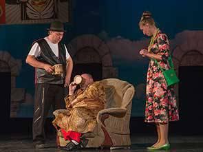 Спектакль «Веселые жены виндзора»